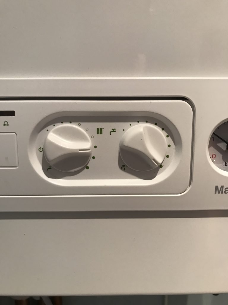 hot water & heating control